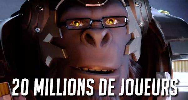 overwatch : 20 millions de joueurs a travers le monde !