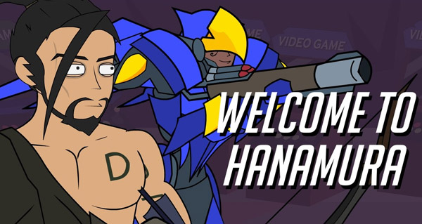 video d'animation overwatch : welcome to hanamura