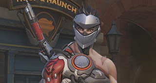 Skin légendaire Blackwatch Genji - Insurrection