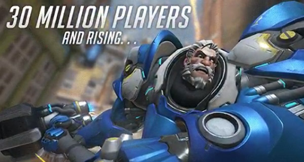 overwatch compte desormais 30 millions de joueurs