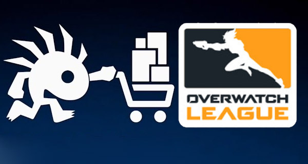 overwatch league  : le merchandising disponible sur le blizzard store