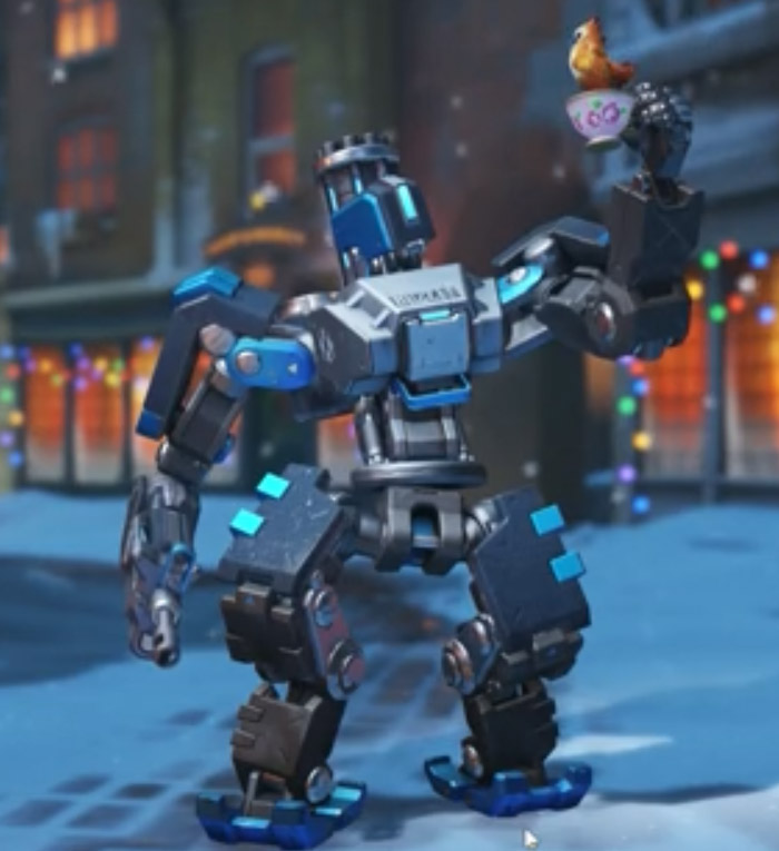 Bastion nouvelle pose - Overwatch