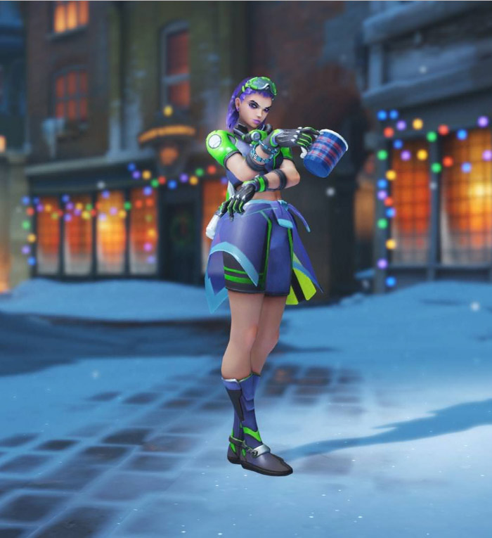 Sombra nouvelle pose - Overwatch