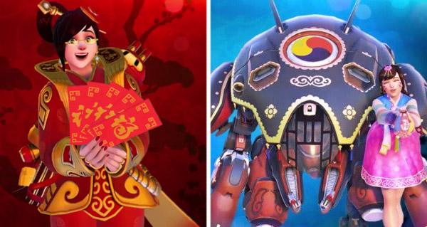 le nouvel an chinois se fete des le 24 janvier dans overwatch