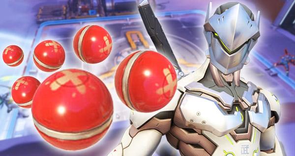 defi inutile overwatch : renvoyer 100 grenades avec genji