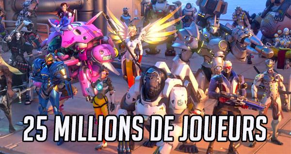 overwatch compte desormais 25 millions de joueurs