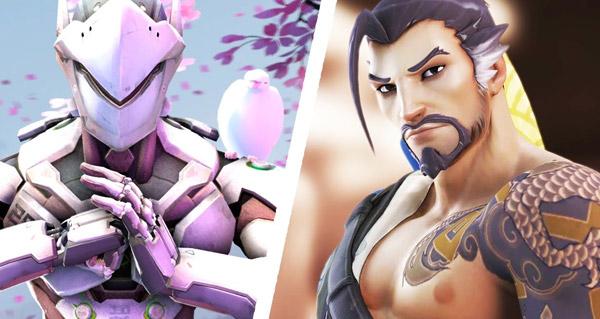 histoire d'un heros overwatch : genji et hanzo