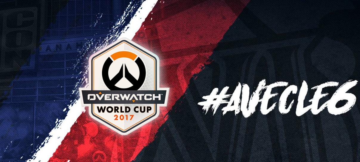 Site officiel de l'équipe de France pour l'Overwatch World cup 2017