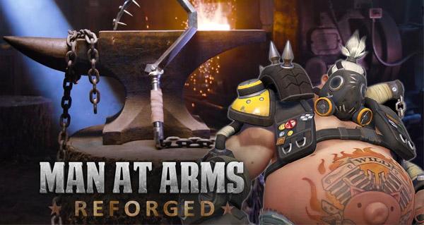 le traquelard de chopper forge par man at arms