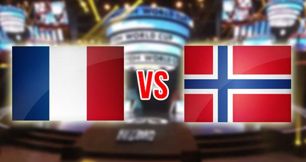 coupe du monde 2017 : la france affronte la norvege pour les qualifications