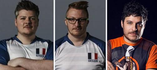 AlphaCast, DeGun et Troma font partie du comité compétitif de l'équipe de France