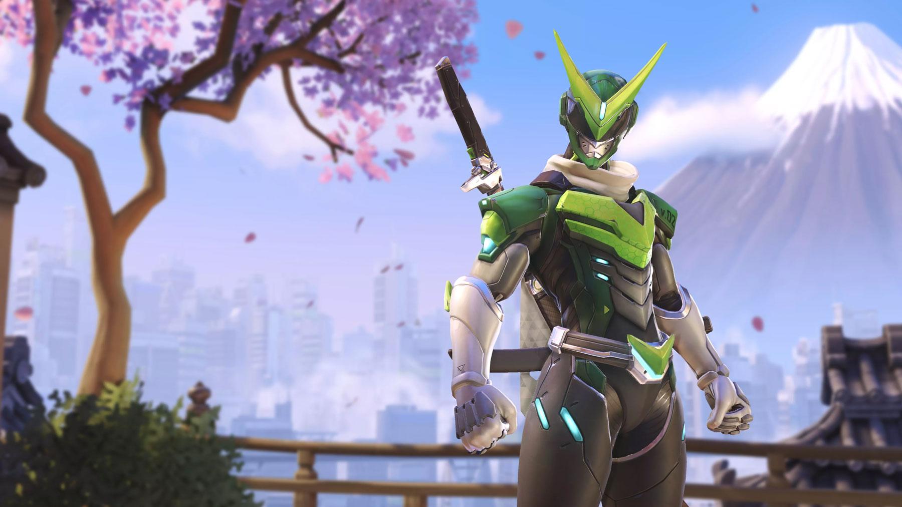 Skin Genji Sentai - Anniversaire Overwatch