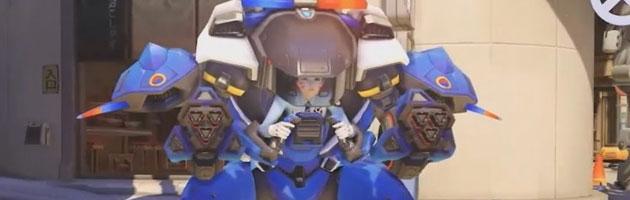 D.Va Officier de police - Défi du Nexus Heroes of the Storm