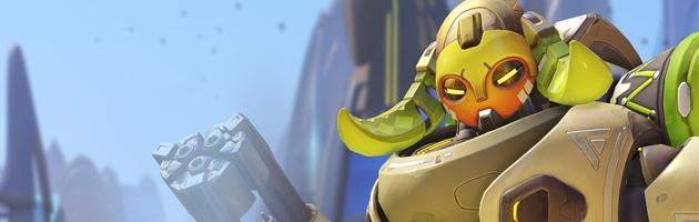 Orisa est un nouveau héros tank dont la mobilité est importante