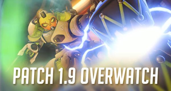 patch 1.9 : orisa desormais disponible et nouvel equilibrage pour les heros