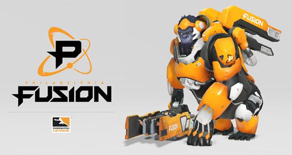 overwatch league : blizzard presente philadelphia fusion !