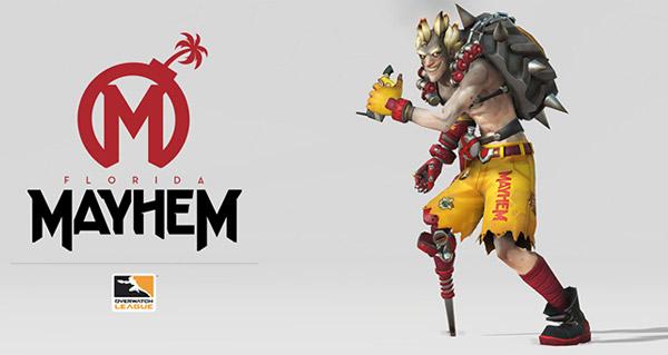 overwatch league : florida mayhem et skin de chacal