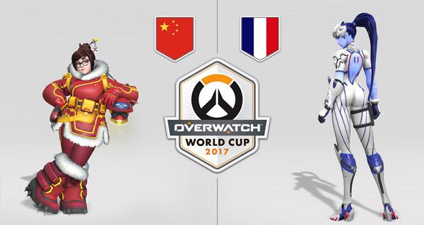 overwatch world cup : presentation des skins des equipes en jeu