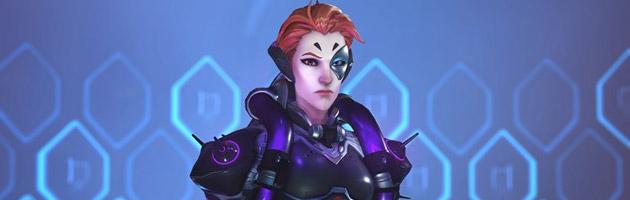 Moira est un héros de soutien qui manipule les énergies biotiques