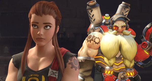 overwatch lore : brigitte lindholm est la fille de torbjorn
