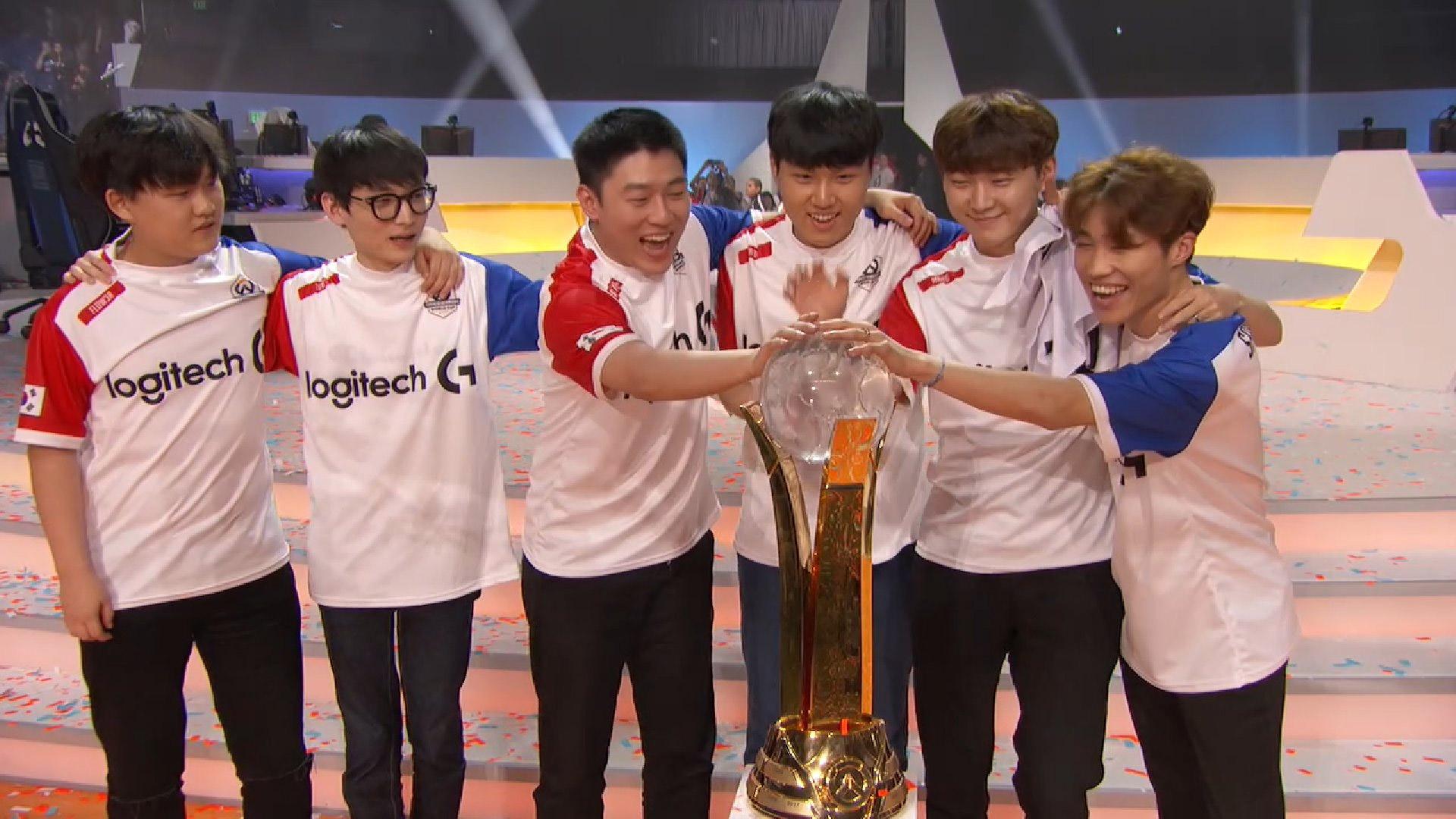 La Corée du Sud remporte pour la deuxième fois l'Overwatch World Cup !