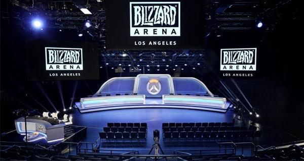 blizzard arena los angeles : decouvrez les premieres photos du stade