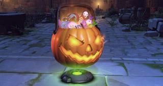 Coffre à butin Un Halloween terrifiant