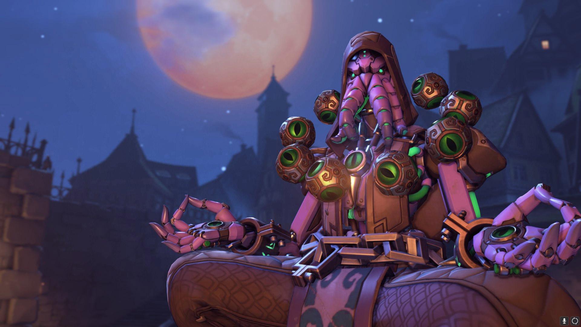 Zenyatta Adorateur - Un Halloween terrifiant