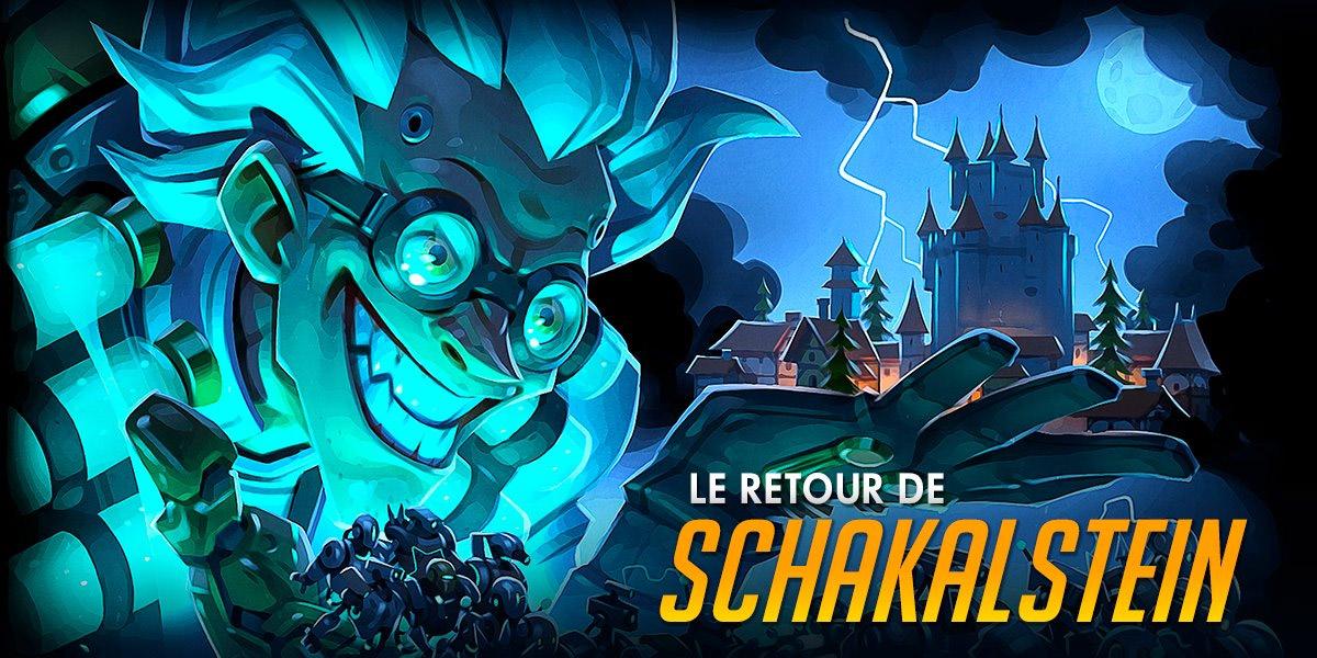 Le Retour de Schakalstein illustré par Gray Shuko