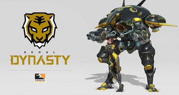 overwatch league : seoul presente le logo de dynasty et un skin pour d.va