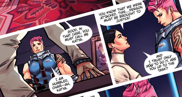 comic overwatch searching : sortie le 27 septembre (extraits disponibles)