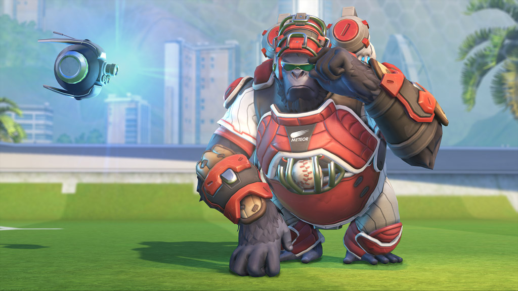 Skin Winston Receveur - Jeux d'été 2018