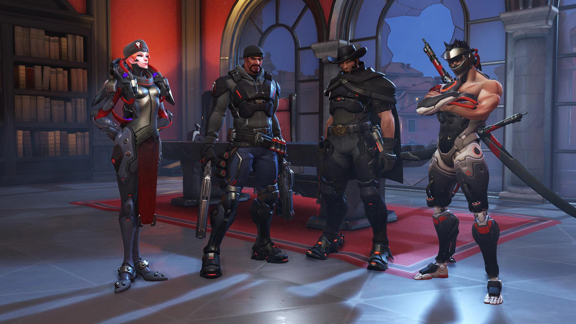 Mission Représailles avec Moira, Faucheur, McCree et Genji