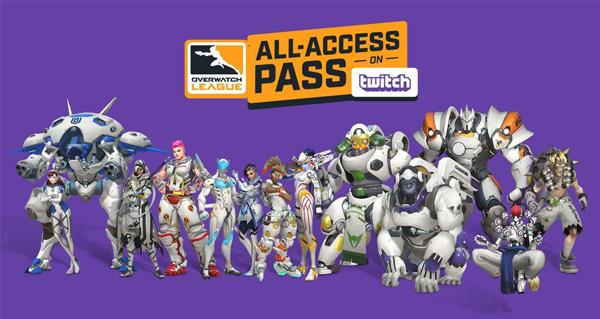 pass acces complet overwatch league : 12 nouveaux skins a venir pour le mois de mai