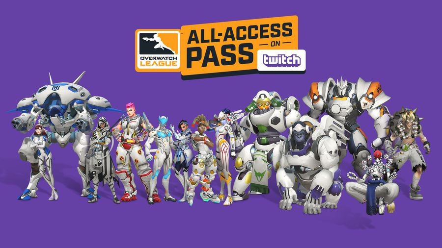 Pass accès complet de l'Overwatch League : 12 nouveaux skins à venir
