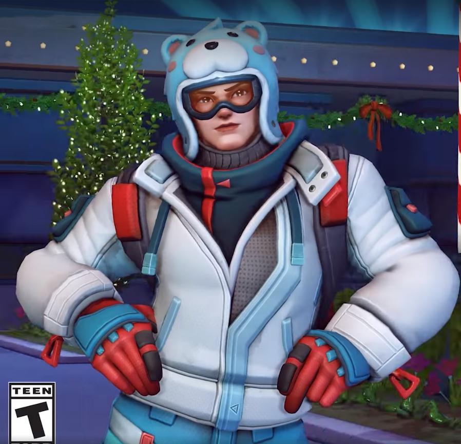 Zarya skin légendaire Snowboarder