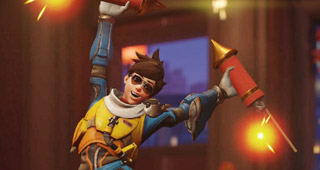 Pose victoire Tracer (2018)
