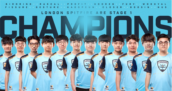overwatch league : les london spitfire remporte la periode 1
