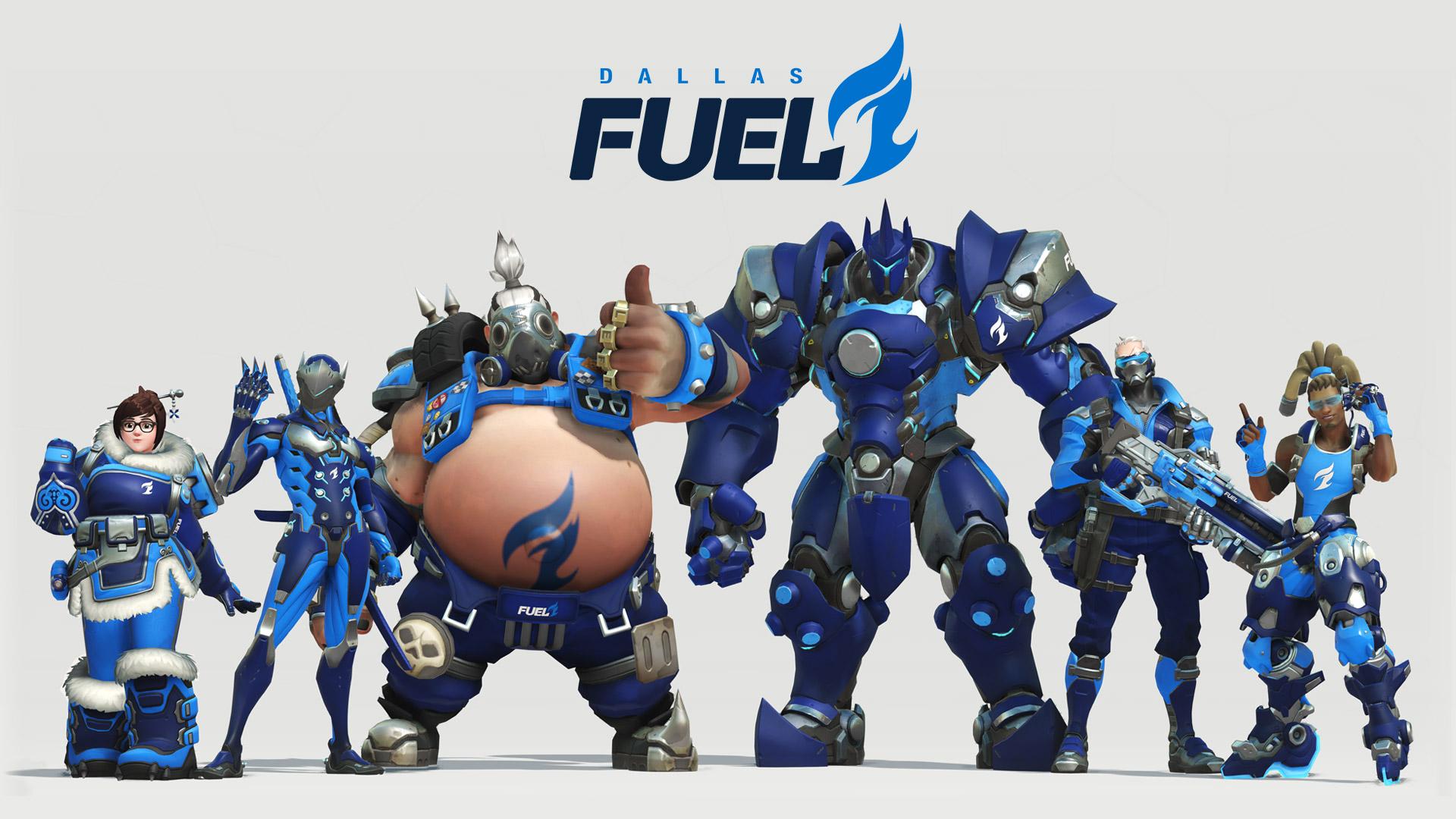 Skin de l'équipe Dallas Fuel pour l'Overwatch League