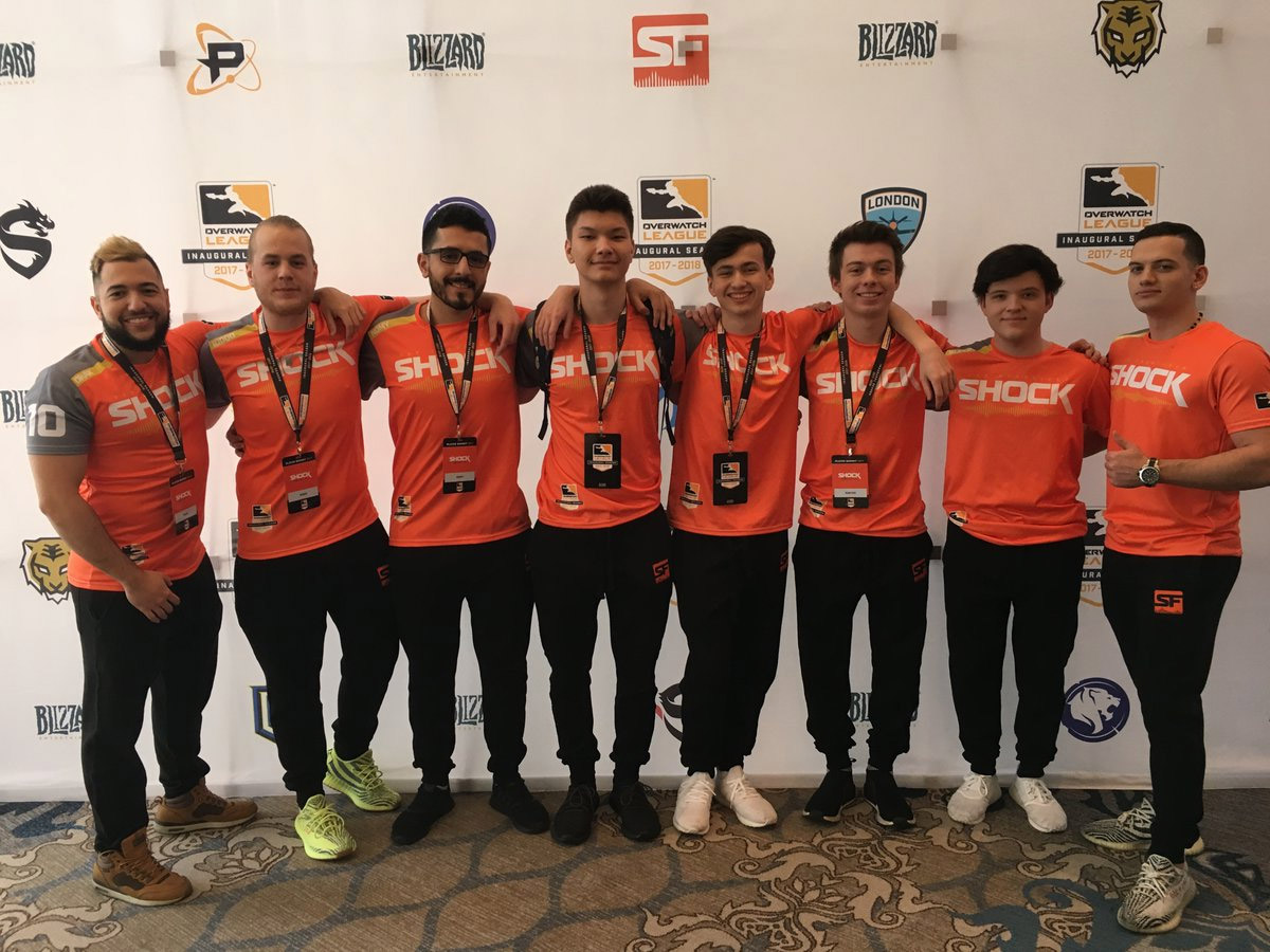 Overwatch League : l'équipe San Francisco Shock (États-Unis)