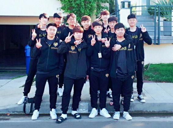 Overwatch League : l'équipe Seoul Dynasty (Corée du Sud)