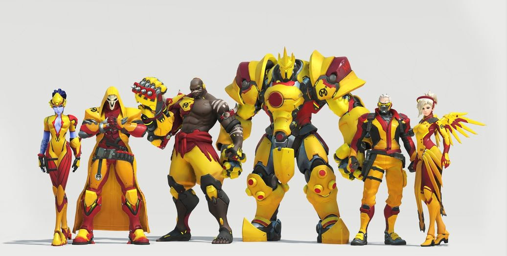 Skin de l'équipe Florida Mayhem pour l'Overwatch League