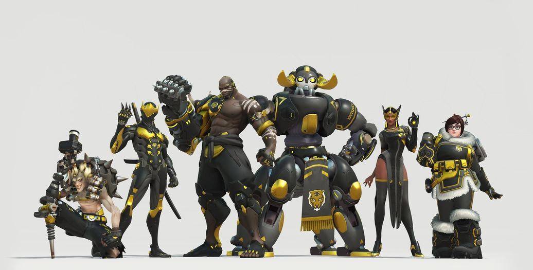 Skin de l'équipe Seoul Dynastie pour l'Overwatch League (Corée du Sud)