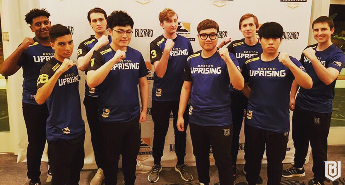 Overwatch League : l'équipe Boston Uprising (États-Unis)