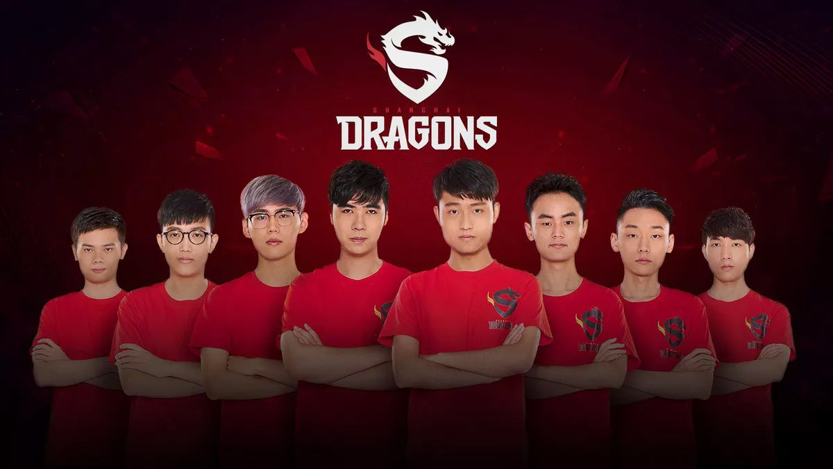 Overwatch League : l'équipe Shanghai Dragons (Chine)