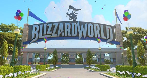 blizzard world : sortie de la nouvelle map overwatch le 23 janvier 2018