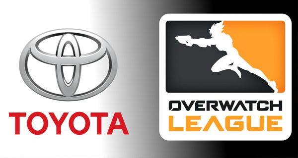 toyota devient le partenaire officiel de l'overwatch league