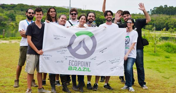 ecopoint au bresil : une equipe met sur pied un projet de reboisement