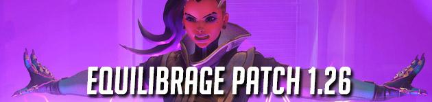 Équilibrage pour le patch 1.26 d'Overwatch