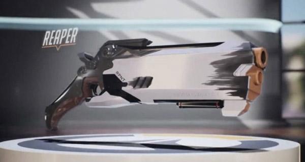 hasbro et overwatch : date de sortie du pistolet nerf de faucheur en 2019